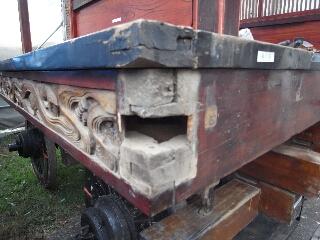 伊奈本町山車修理   解体工事