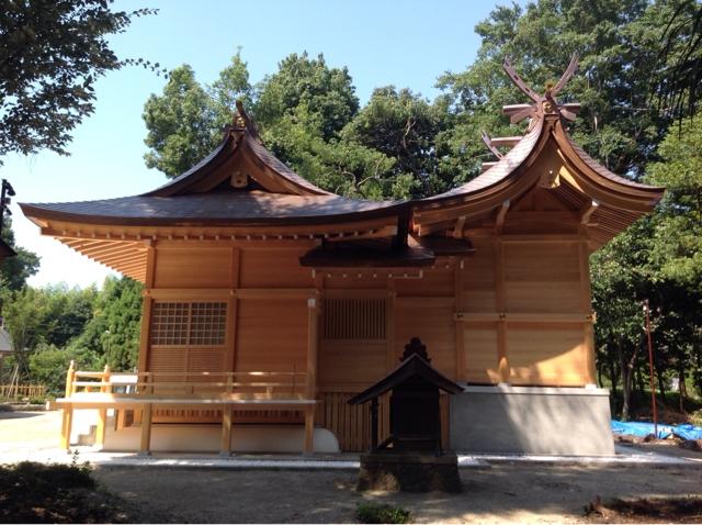 鹿嶋神社竣工